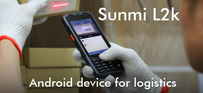 Sunmi L2k - Rugged Android reader with keyboard