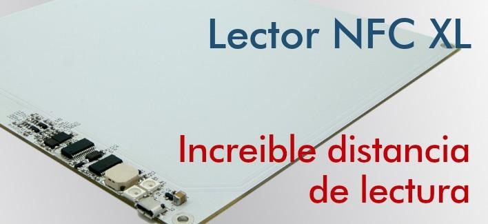 Lector NFC XL - NFC Reader de largo alcance