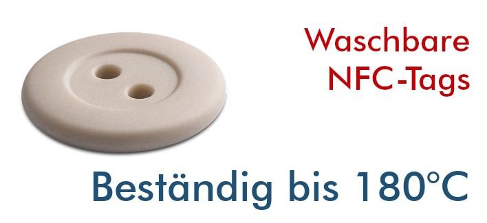 NFC Waschbare Tags ICODE SLIX2 16mm
