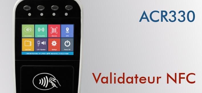 ACR330 - Validateur NFC pour le transport