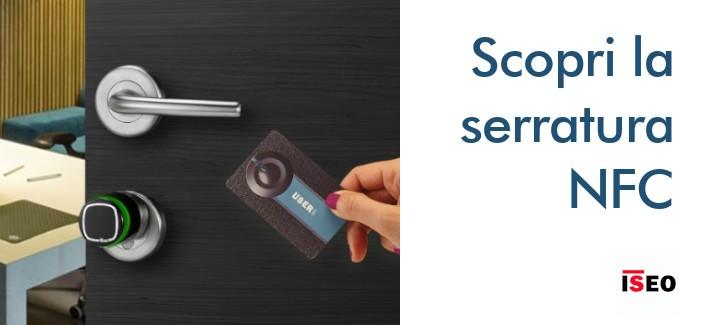 Serratura intelligente - Cilindro elettronico NFC