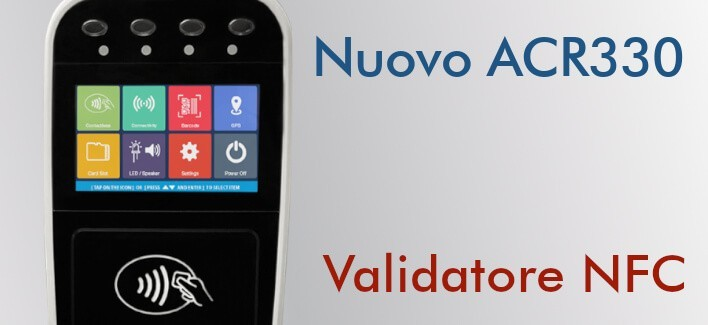 ACR330 - Validatore NFC per i trasporti