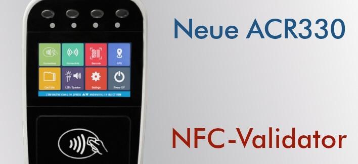 ACR330 - NFC-Validator für den Transport