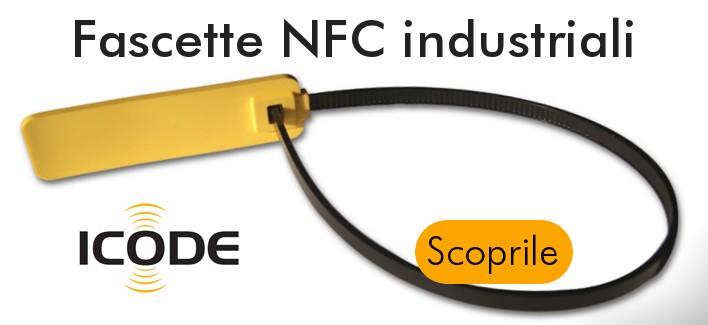 Fascette NFC per uso industriale