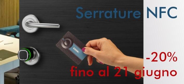 Serrature NFC in offerta a -20%