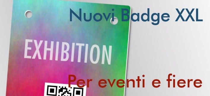 Badge NFC XXL - Stampa Offset