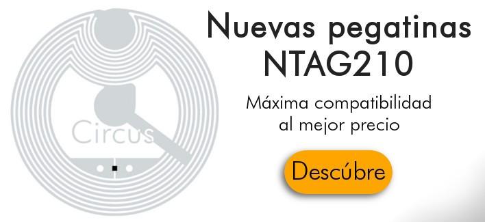 Nuevas Pegatinas NXP NTAG210