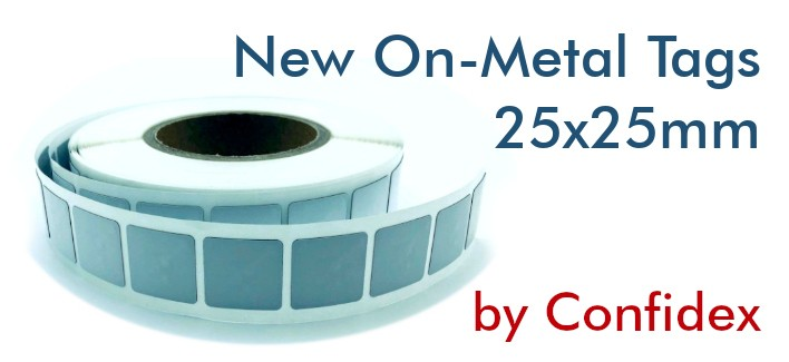 On-metal NFC Tags NTAG213 IP68 25x25mm