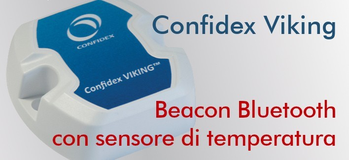 Confidex Viking - Beacon Bluetooth BLE