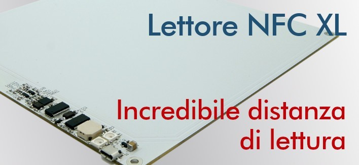 Lettore NFC XL - NFC Writer a lungo raggio