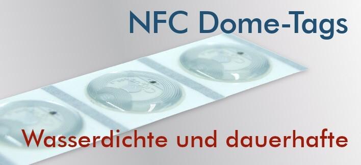 NFC-Tags NTAG213 mit Epoxidharz beschichtet