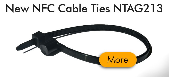 NFC Cable Ties for industrial use