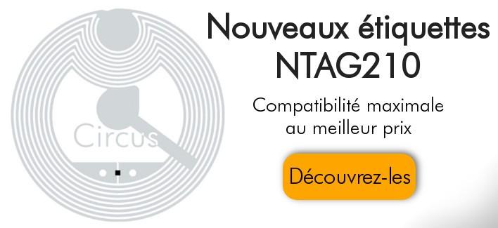 Nouveaux ètiquettes NXP NTAG210
