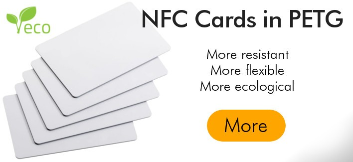 NFC Card in PETG - More resistant and ecological