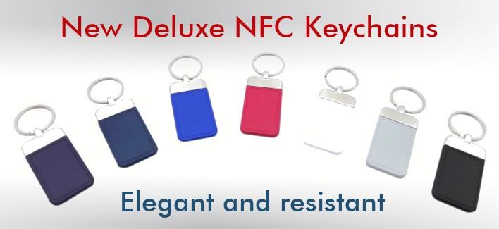 NFC Keyrings - Deluxe