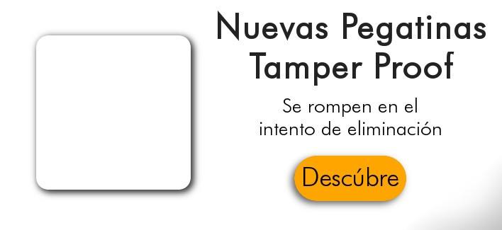 Etiqueta NFC Tamper Proof