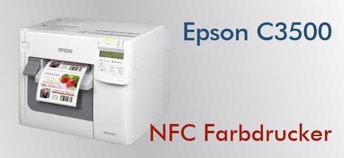 Epson C3500 - Farbdrucker für NFC-Etiketten