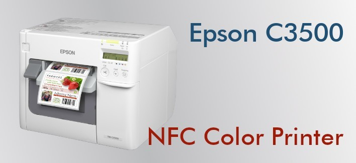 Epson C3500 - NFC Label Color Printer