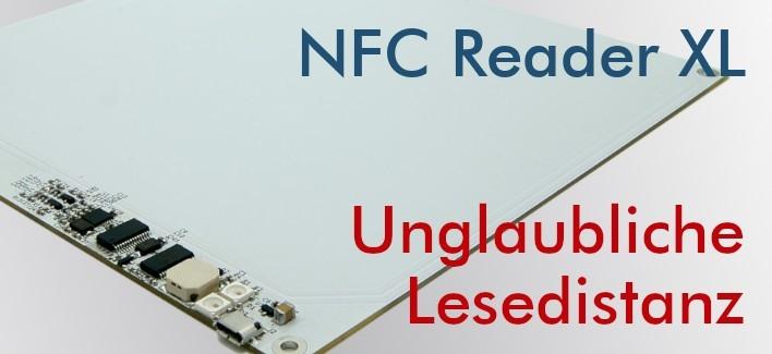 XL NFC Reader - Langstrecken NFC Writer