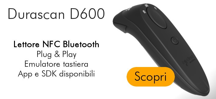 Nuovo Lettore NFC Bluetooth