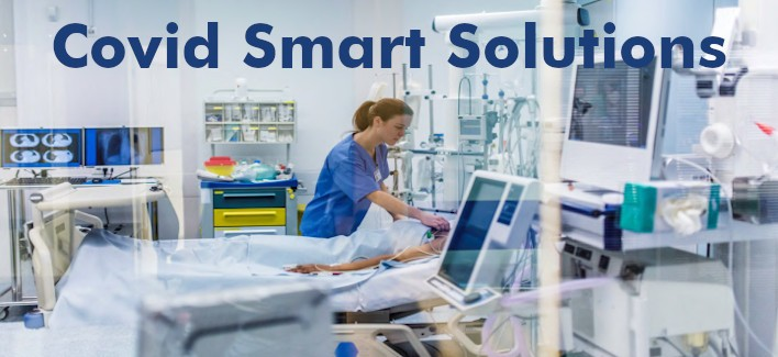 Our Smart solutions to deal with the pandemic