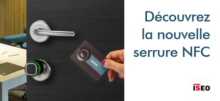 Serrure intelligent - Cylindre électronique NFC