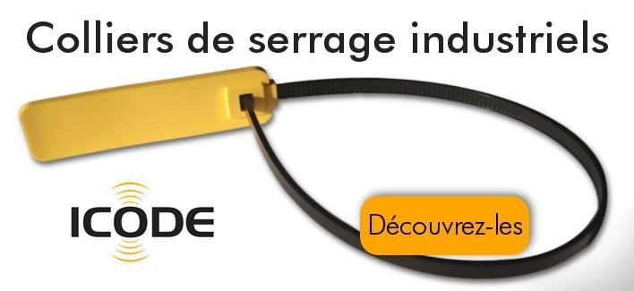Colliers de serrage NFC pour usage industriel