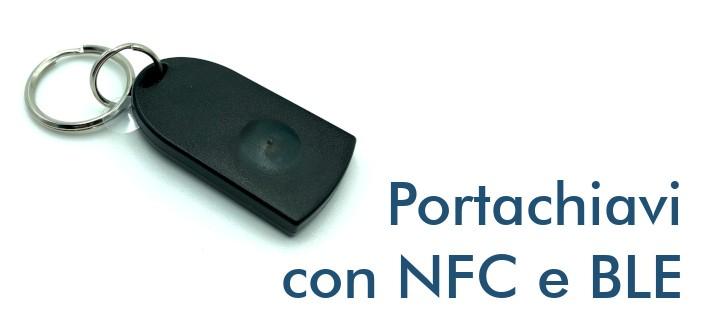Portachiavi con NFC e Bluetooth BLE