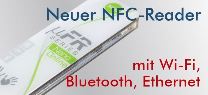 uFR Nano Online - NFC Reader mit Wi-Fi, Bluetooth, Ethernet