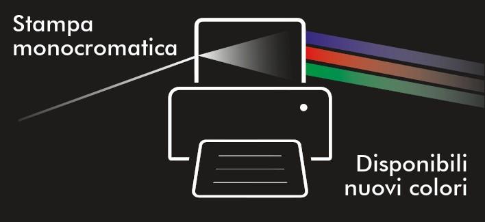 Nuovi colori disponibili per la stampa a trasferimento termico