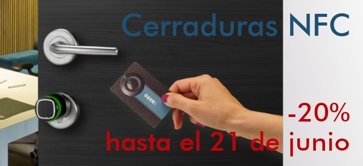 Cerraduras NFC