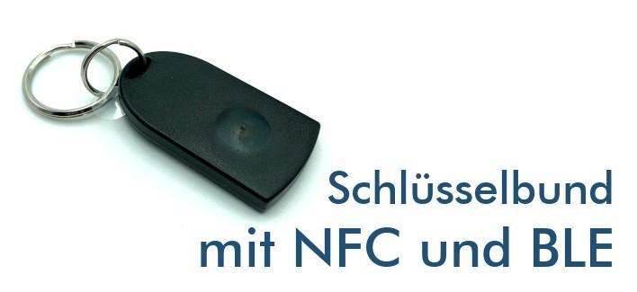 Schlüsselbund mit NFC und Bluetooth BLE