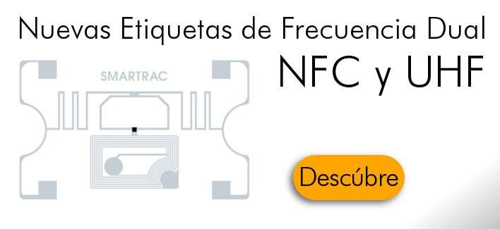 Etiqueta de frecuencia dual NFC/UHF