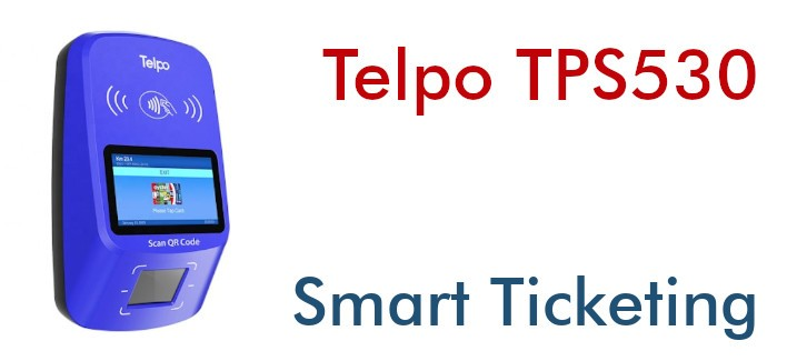 Telpo TPS530 NFC-Validator für den Transport