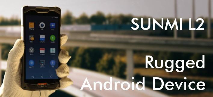 Sunmi L2 - PDV Android industriel