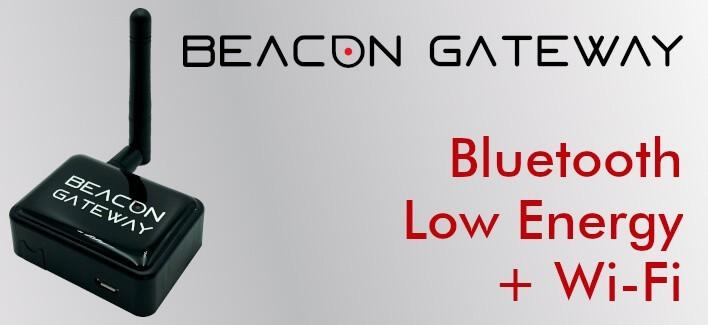 Beacon Gateway BLE mit Wi-Fi