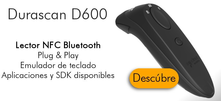 Lector NFC Bluetooth