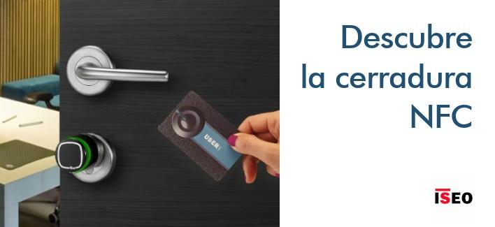 Cerradura smart - Cilindro electrónico NFC