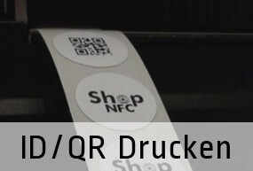 1-color printing of logo, serials, QRs and variants