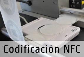 Servicio de programación de Etiquetas NFC