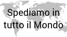 Spediamo in tutto il Mondo