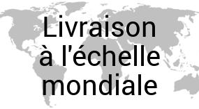 Livraison à l'échelle mondiale